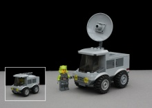 Radar and Support Vehicle