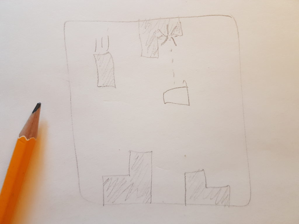 Early game concept sketch